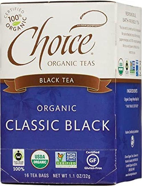 Choice Organic Teas Classic Black  16 bags