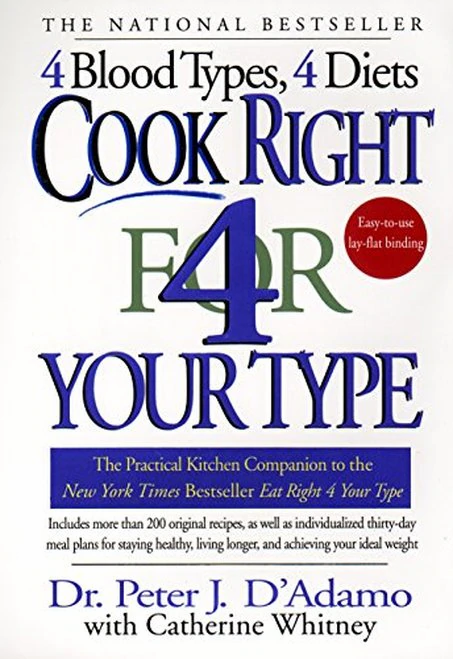 Cook Right 4 Your Type  Dr. Peter J. D'Adamo