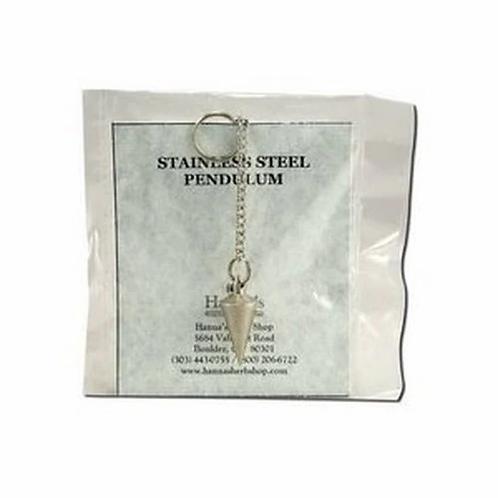 Hanna's Herb Shop Stainless Steel Pendulum  1 ct