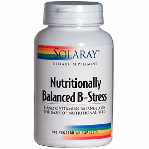Solaray Nutritionally Balanced B-Stress  100 caps