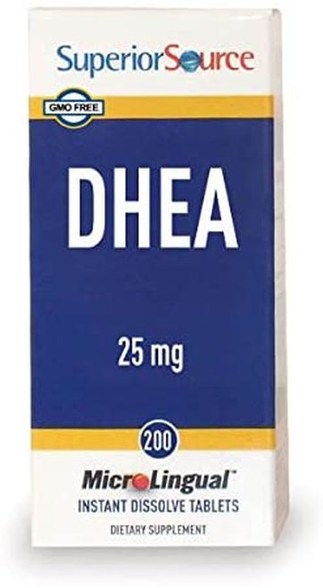 Superior Source DHEA 25 mg  30 tabs