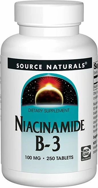 Source Naturals Niacinamide B-3  250 tabs