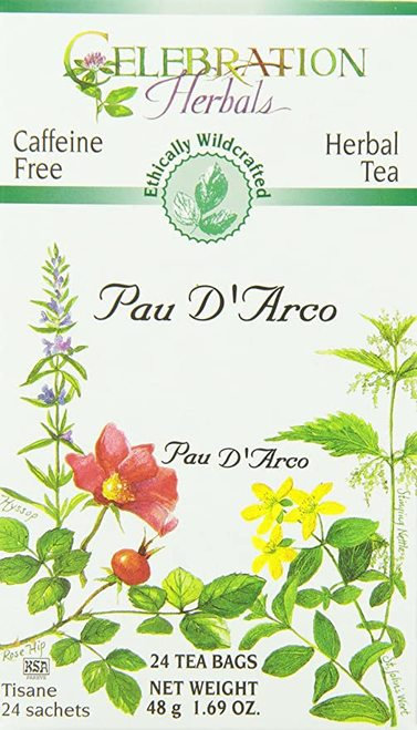 Celebration Organic Herbal Tea Pau D'Arco  24 bags