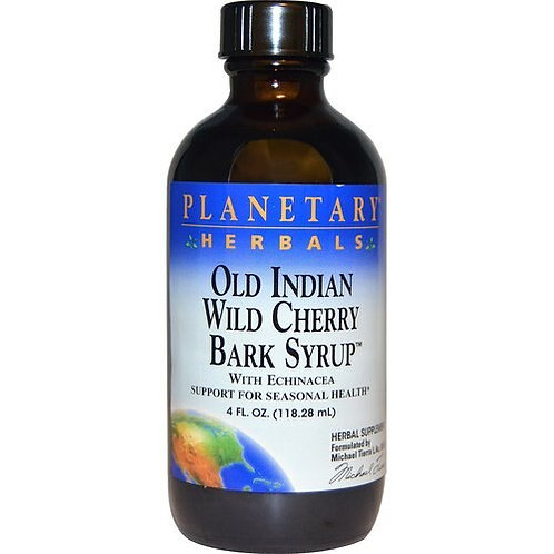 Planetary Herbals Old Indian Wild Cherry Bark Syrup  118.28 ml