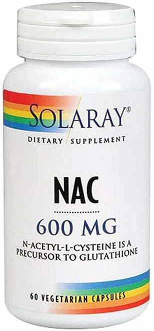 Solaray NAC 600 mg  60 caps