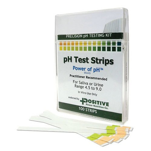 Positive Power Nutrition pH Test Strips  25 strips