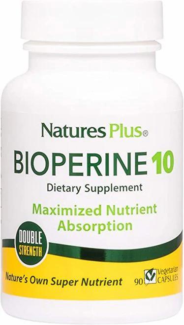 NaturesPlus Bioperine 10  90 caps