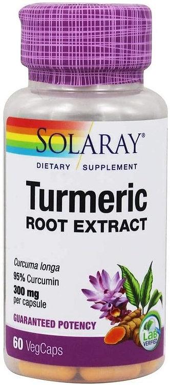 Solaray Turmeric 300 mg  60 caps