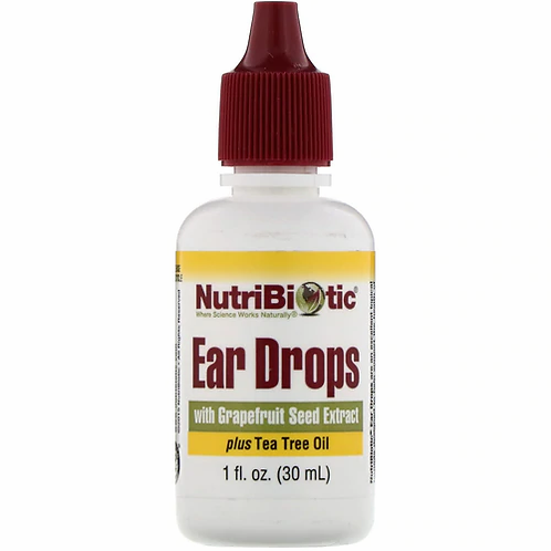 NutriBiotic Ear Drops with GSE  30 ml