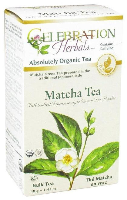 Celebration Organic Herbal Tea Matcha Tea  40 g