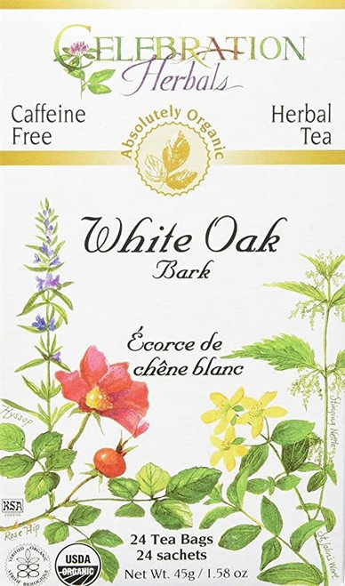 Celebration Organic Herbal Tea White Oak Bark  24 bags