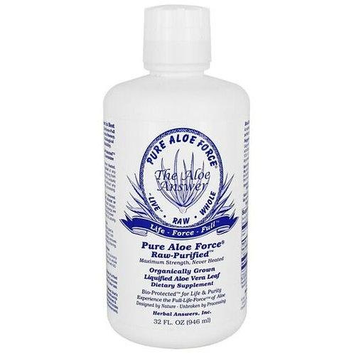 Herbal Answer Pure Aloe Force  946 ml