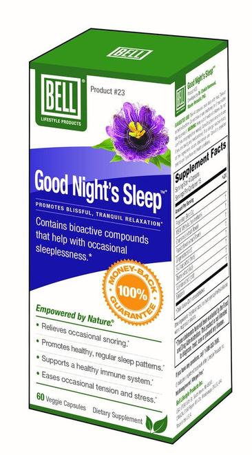 Bell Lifestyle Products Good Night's Sleep  60 caps