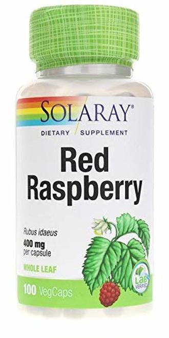 Solaray Red Raspberry 400 mg  100 caps