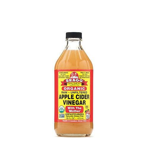 Bragg Organic Apple Cider Vinegar 16 oz (1 pt)