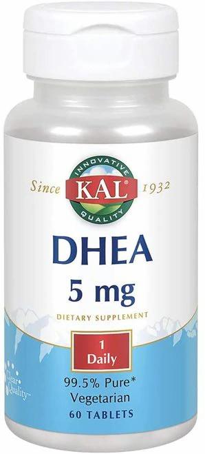 KAL DHEA 5 mg 1 Daily  60 tabs