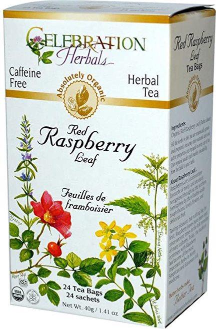 Celebration Organic Herbal Tea Red Raspberry Leaf  24 bags