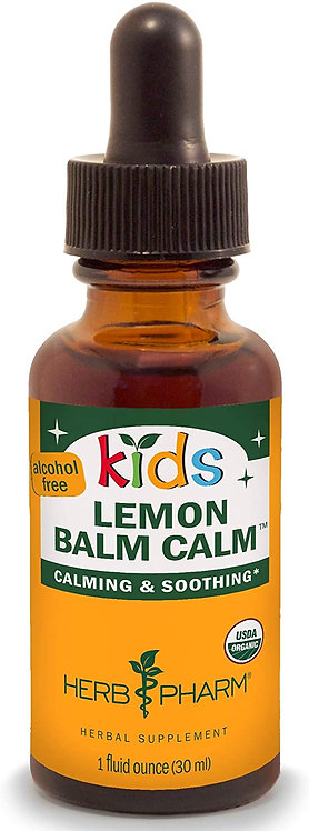 Herb Pharm Kids Lemon Balm Calm   30 ml