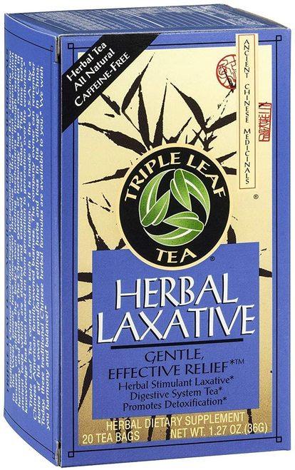 Triple Leaf Tea Herbal Laxative  20 bags