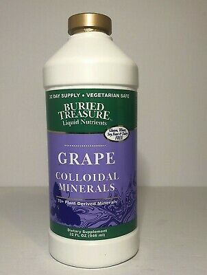 Buried Treasure Grape Colloidal Minerals  946 ml