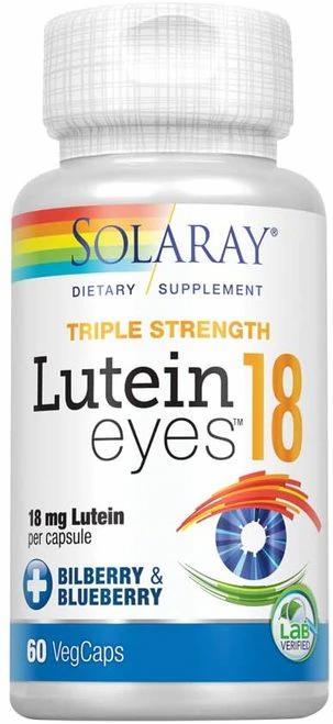 Solaray Lutein Eyes 18 g  30 caps