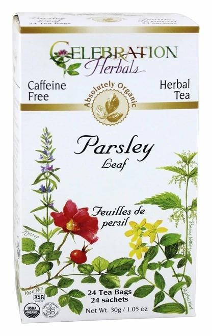 Celebration Organic Herbal Tea Parsley Leaf  24 bags