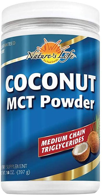 Nature's Life Coconut MCT Powder  397 g