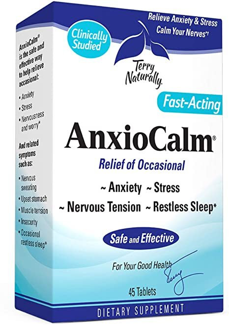 Terry Naturally AnxioCalm 45 tabs