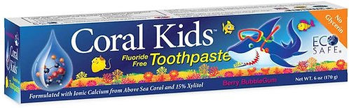 Coral LLC Coral Kids Toothpaste Berry Bubble Gum  170 g