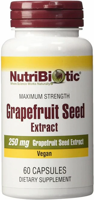 NutriBiotic Grapefruit Seed Extract 250 mg  60 caps