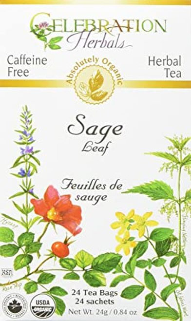 Celebration Organic Herbal Tea Sage Leaf  24 bags