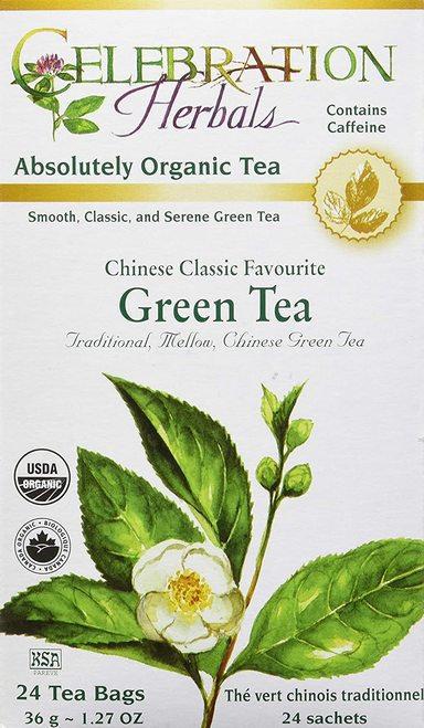 Celebration Organic Herbal Tea Chinese Green Tea  24 bags