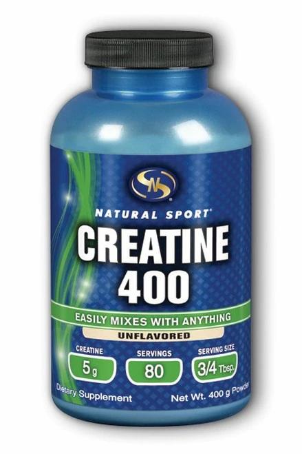 Natural Sport Creatine 400 Unflavored Powder  400 g