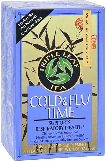Triple Leaf Tea Cold & Flu Time   20 bags