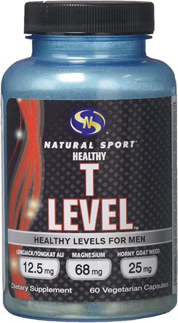 Natural Sport T Level  60 caps
