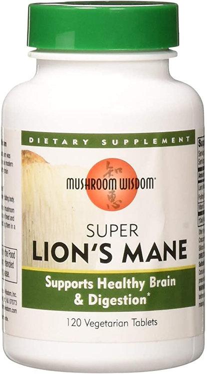 Mushroom Wisdom Super Lion's Mane  120 tabs