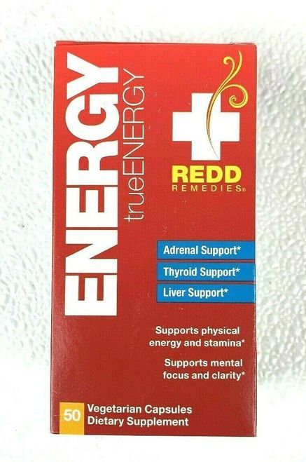 Redd Remedies Energy trueEnergy 50 caps