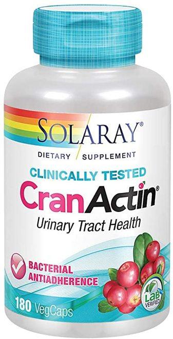 Solaray CranActin  120 caps