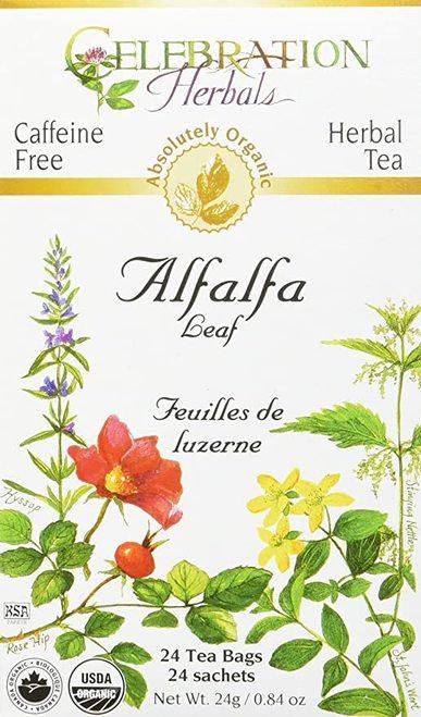Celebration Organic Herbal Tea Alfalfa Leaf  24 bagsCelebration Organic Herbal T