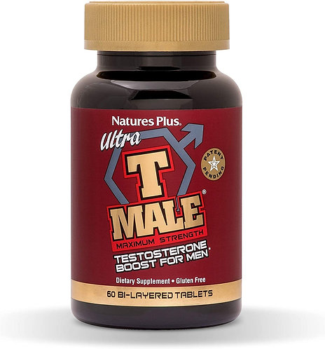 NaturesPlus Ultra T Male  60 tabs