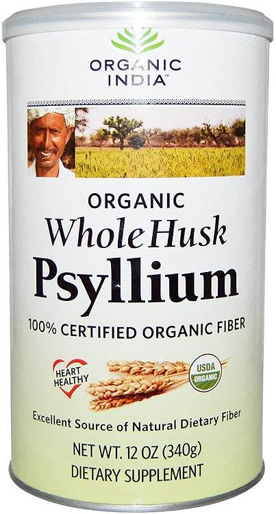 Organic India Whole Husk Psyllium   340 g