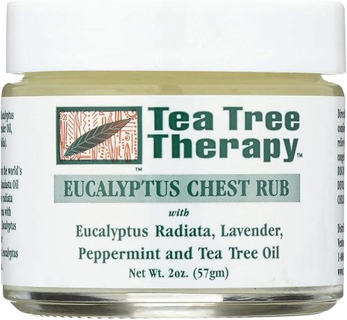Tea Tree Therapy Eucalyptus Chest Rub  57 gm