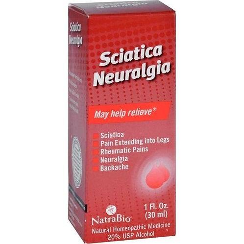 NatraBio Sciatica Neuralgia Drops  30 ml