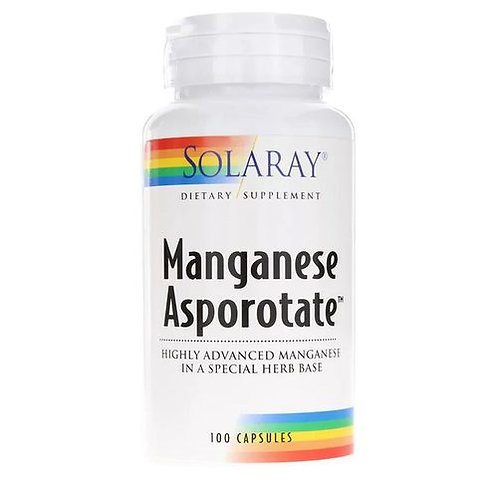 Solaray Manganese Asporotate  100 caps