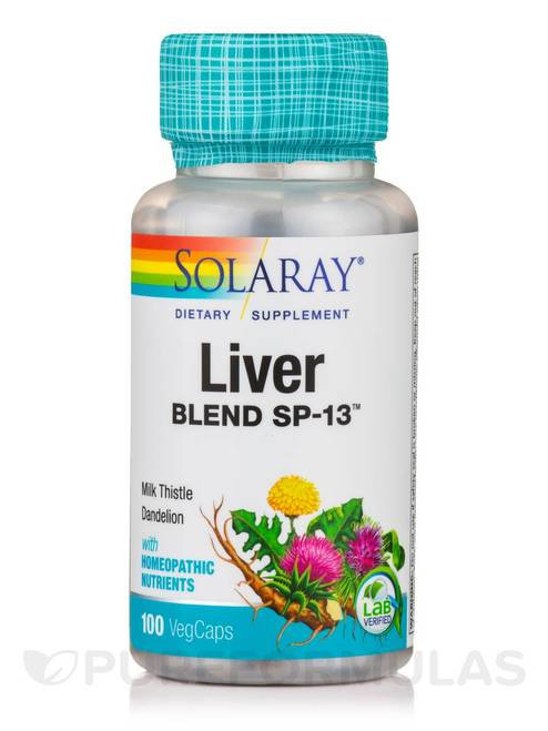 Solaray Liver Blend SP-13 100 caps
