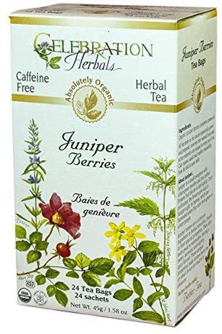 Celebration Organic Herbal Tea Juniper Berries  24 bags