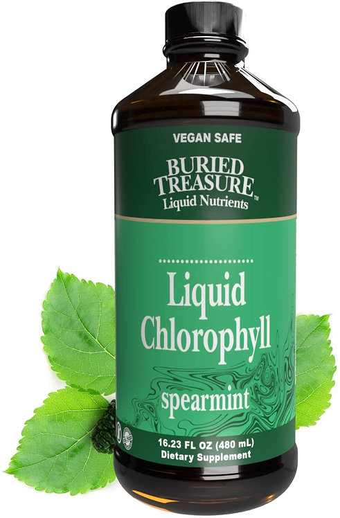 Buried Treasure Liquid Chlorophyll Spearmint  480 ml