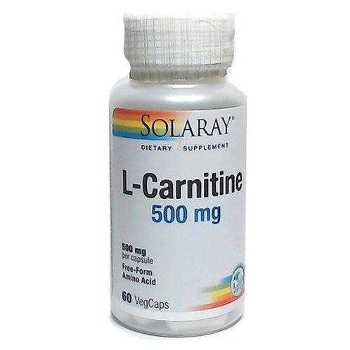 Solaray L-Carnitine 500 mg  60 caps