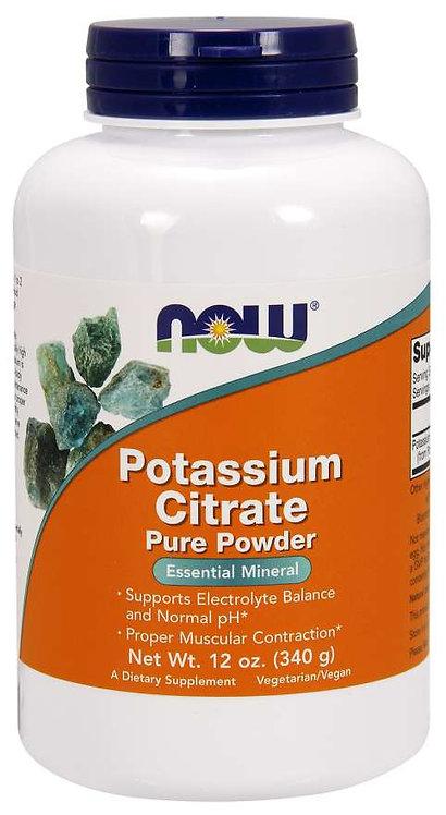 NOW Potassium Citrate Powder  340 g