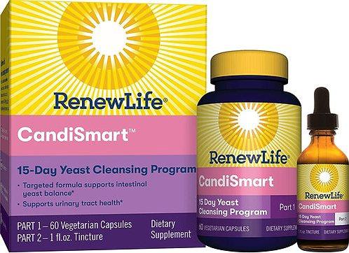 RenewLife CandiSmart  60 c aps - 1 fl oz